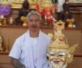 泰国五条经刺符第一传人阿赞宁师父